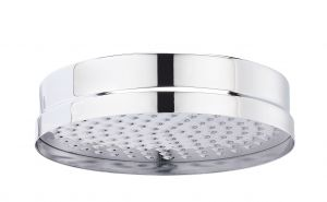 Tec Traditional Round Fixed Shower Head - 200mm