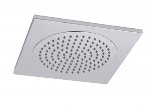 Square Ceiling Tile Fixed Shower Head - 370mm