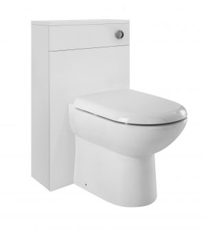 Eden White Gloss Back To Wall WC Unit - 500mm